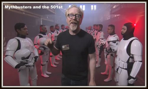 Mythbusters and the 501st Legion
